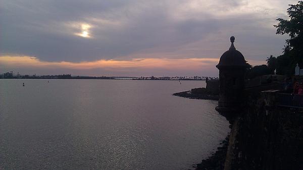 Samuel Gonzalez - Sunset over the Bay of San Juan