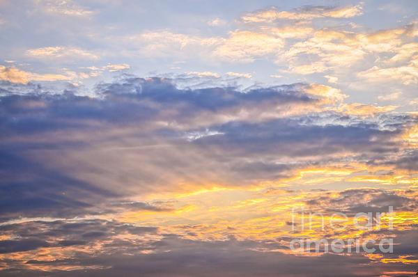 Sunset Sky Print by Elena Elisseeva