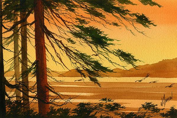 Sunset Splendor Print by James Williamson