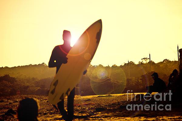 Tom Gari Gallery-Three-Photography - Sunset Surfer