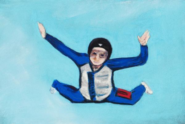Super Kid Print by Anastasiya Malakhova