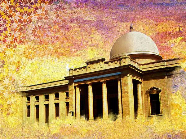 Supreme Court Karachi Print by Catf