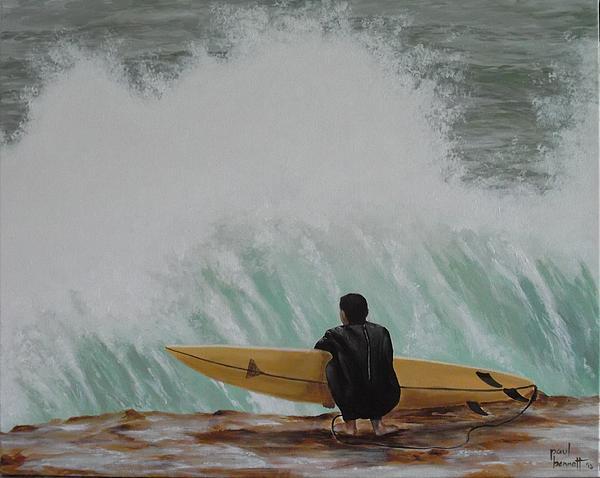 Surf's Up Print by Paul Bennett