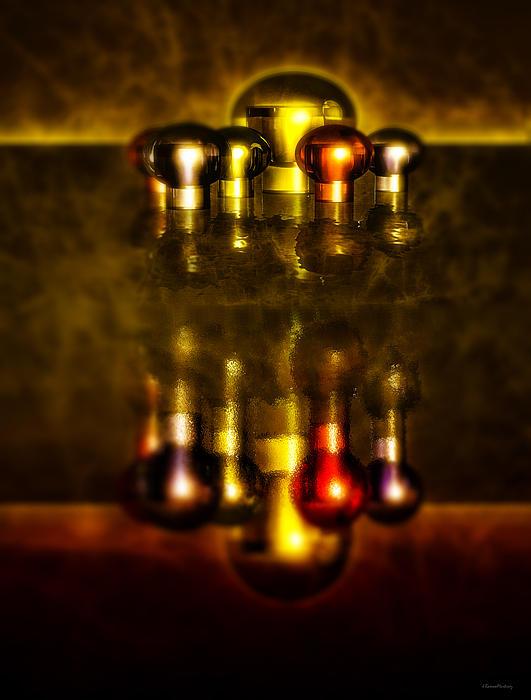 Surreal Lights Print by Ramon Martinez
