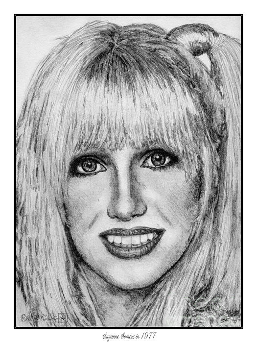 Suzanne Somers In 1977 Print by J McCombie