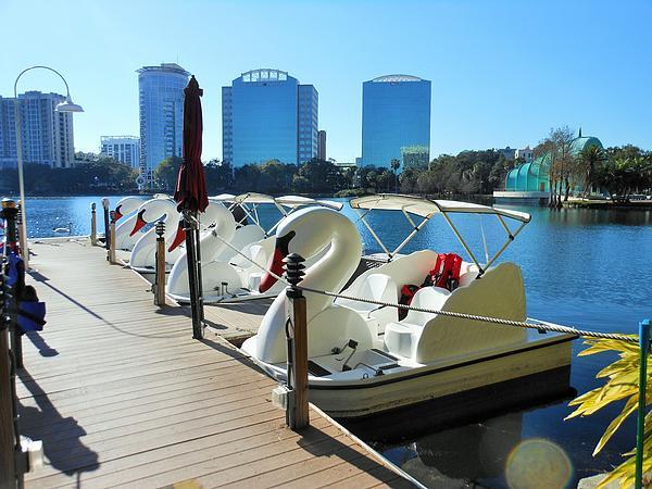 Kay Gilley - Swan Boats at Eola