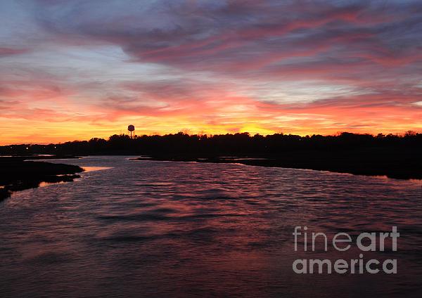 Luke Moore - Swan River Sunset