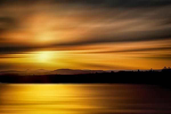 Swanson Lake Print by Gary Smith