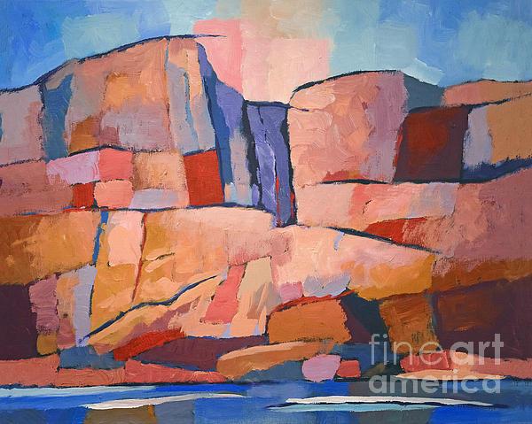 Swedish Cliffs Print by Lutz Baar