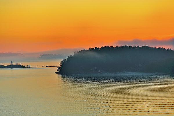 Swedish Sunrise Print by Marianne Campolongo