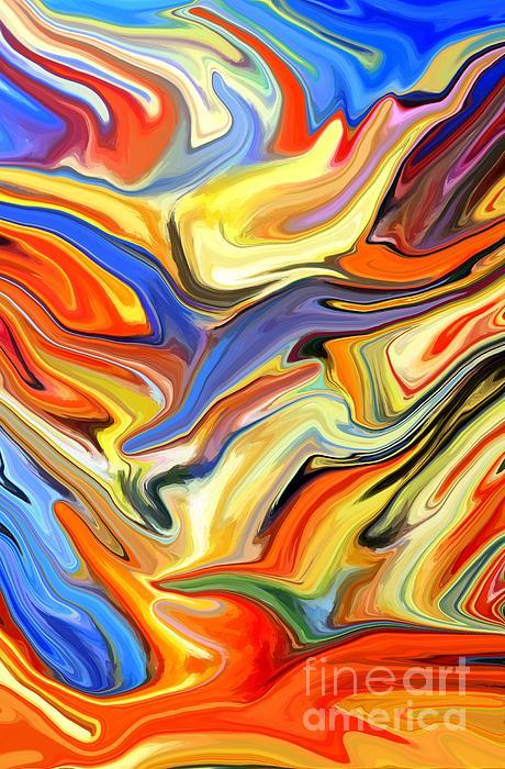 Sweeping Skies Print by Chris Butler