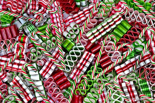 Sweet Christmas 2 Print by Carole Gordon