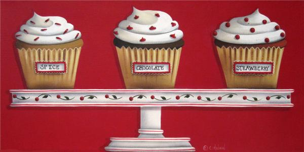 Sweet Delights Print by Catherine Holman