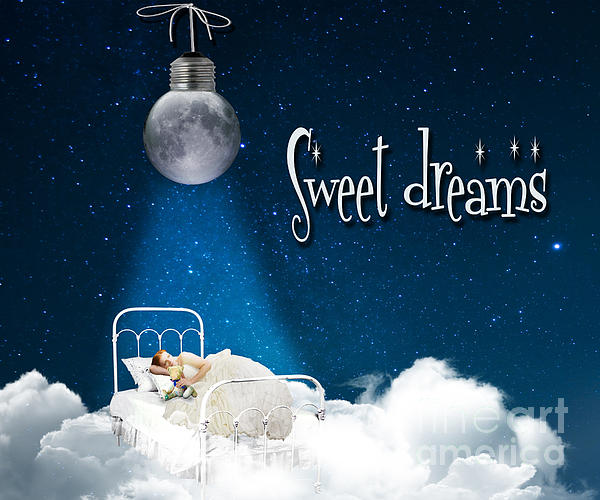 Sweet Dreams Print by Juli Scalzi