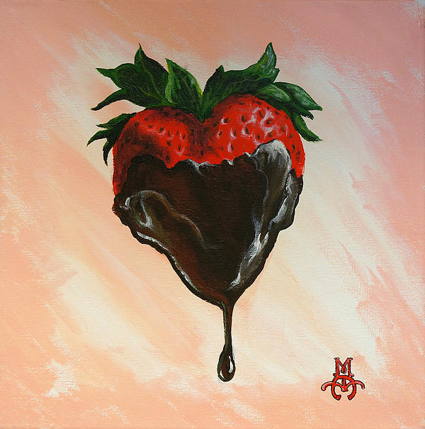 Sweet Heart Print by Marco Antonio Aguilar