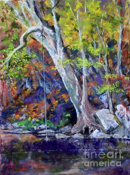 Swimming Hole Print by Bruce Schrader
