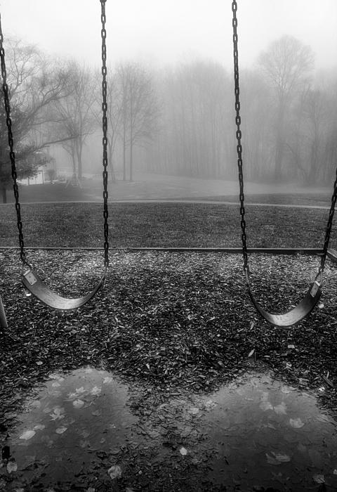 Swing Seats I Print by Steven Ainsworth