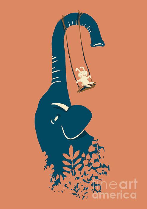 Swing Swing Print by Budi Satria Kwan