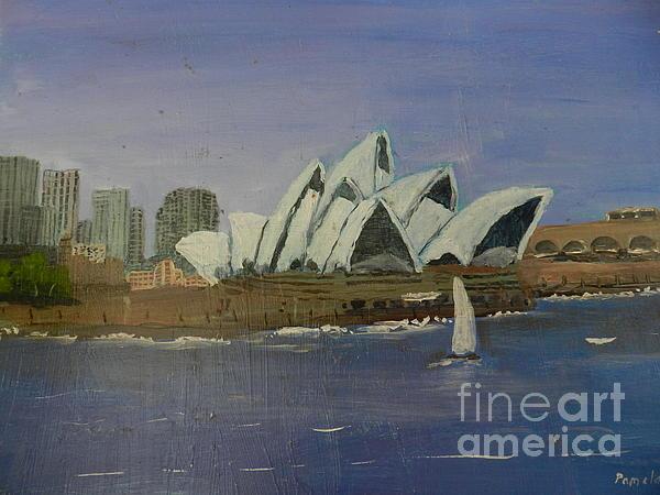 Sydney Opera House Print by Pamela  Meredith