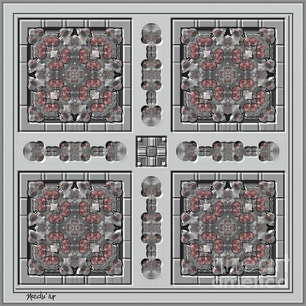 Symmetrica 313 Print by Nedunseralathan R