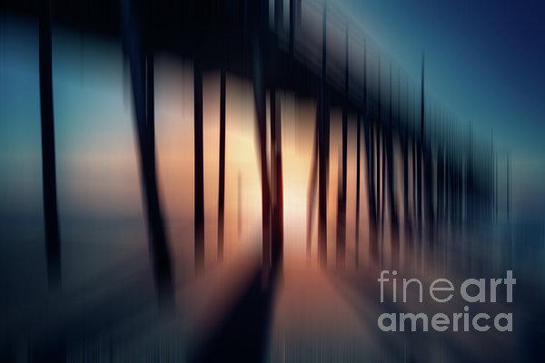 Symphony Of Shadow - A Tranquil Moments Landscape Print by Dan Carmichael