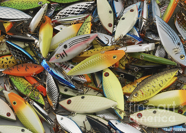 Tackle Box Tangle Print by Jerry McElroy