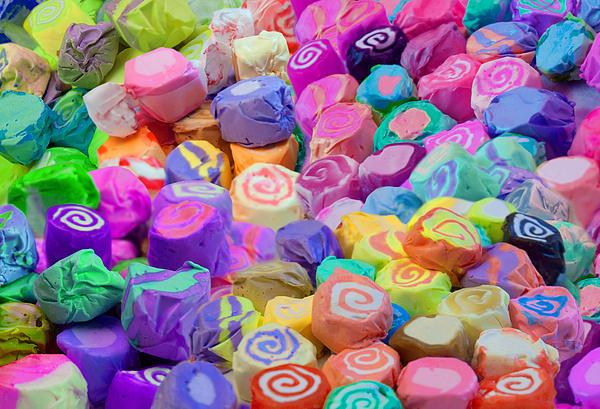 Taffy Candyland Print by Alixandra Mullins