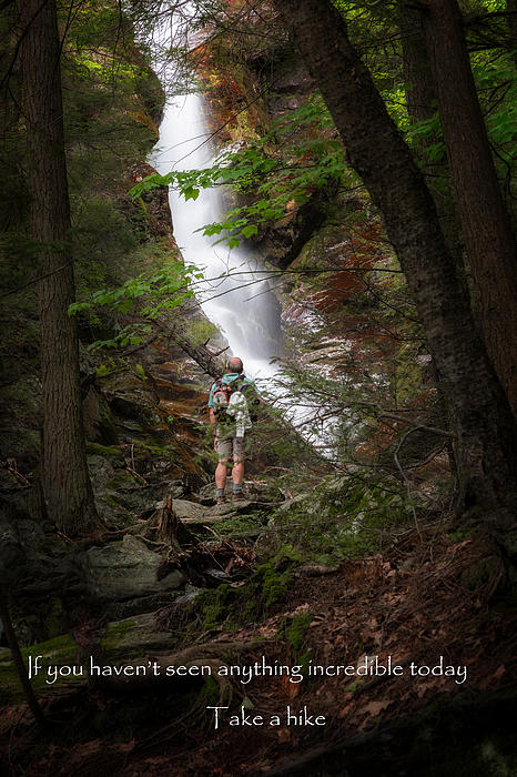 Take A Hike Print by Bill  Wakeley