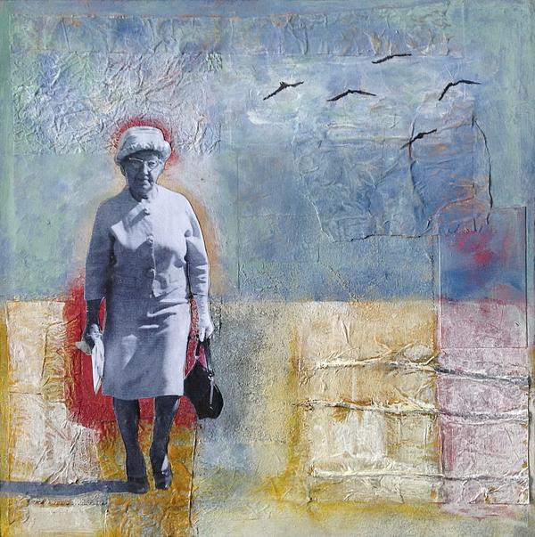 Take Your Memory For A Walk Print by Susan McCarrell