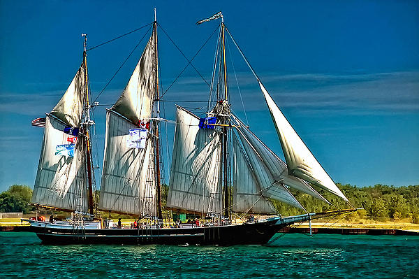 Tall Ship Print by Steve Harrington