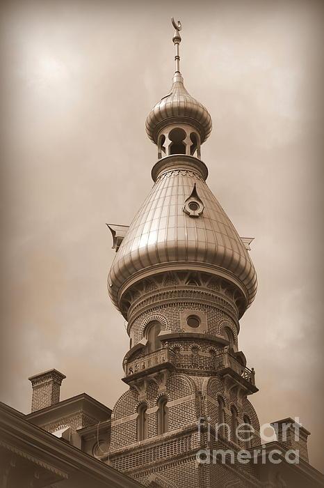 Carol Groenen - Tampa Minaret - Sepia