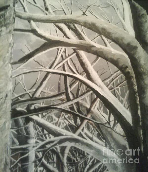 Tangle Print by Erik Coryell