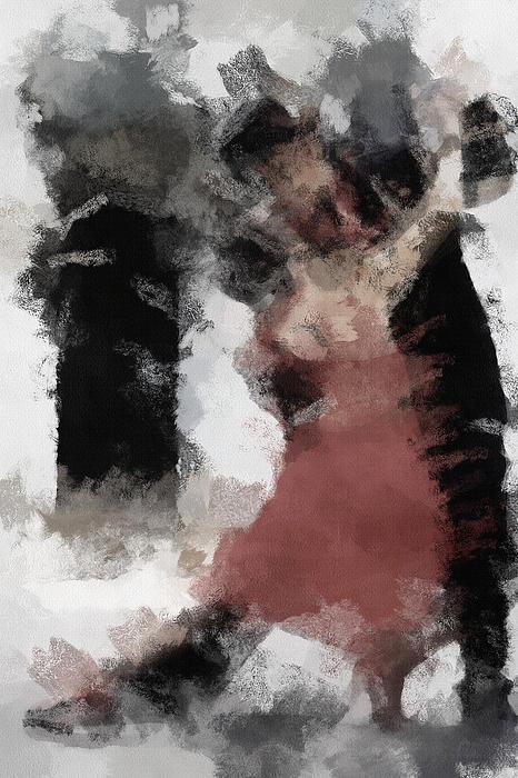 Tango 2 Print by Ayse Deniz