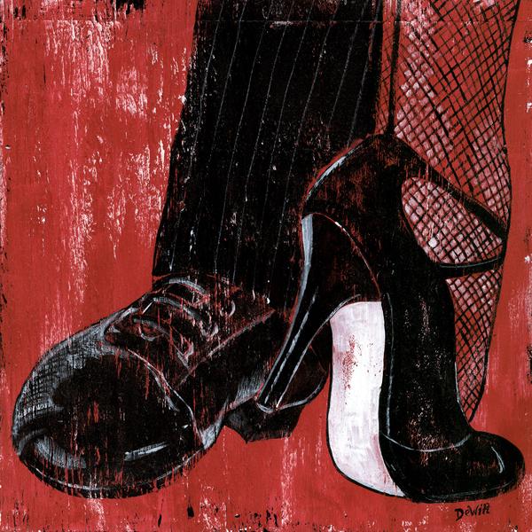 Tango Print by Debbie DeWitt