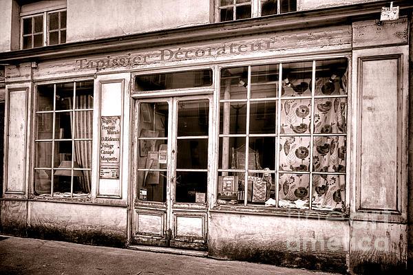 Tapissier Decorateur Print by Olivier Le Queinec
