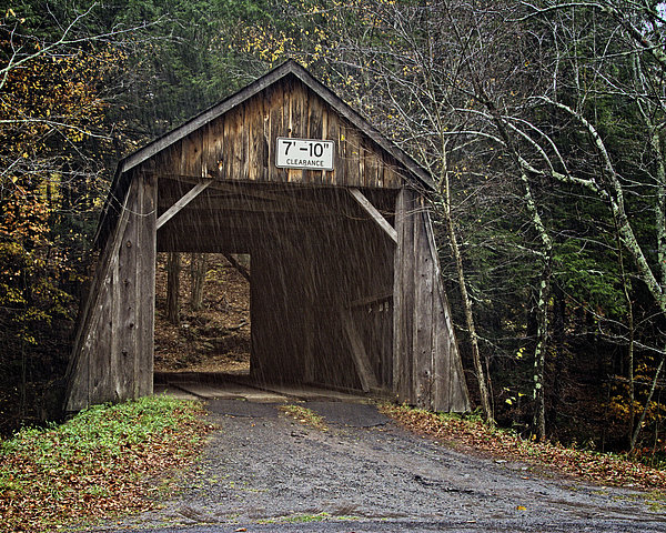 Joan Carroll - Tappan Covered Bridge