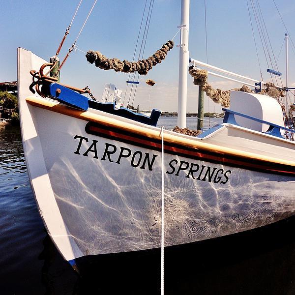 Tarpon Springs Spongeboat Print by Benjamin Yeager