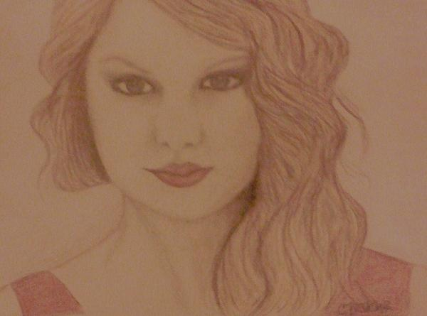 Taylor Swift Print by Christy Brammer