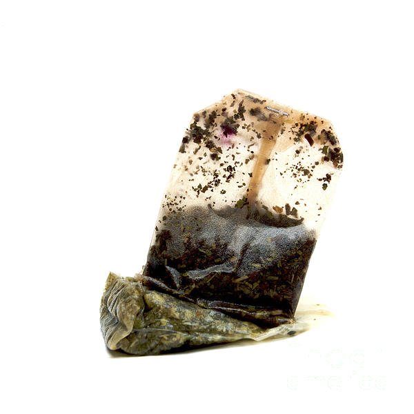 Tea Bag Print by Bernard Jaubert