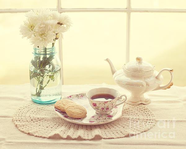 Tea Time Print by Kay Pickens