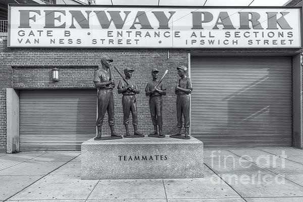 Teammates II Print by Clarence Holmes