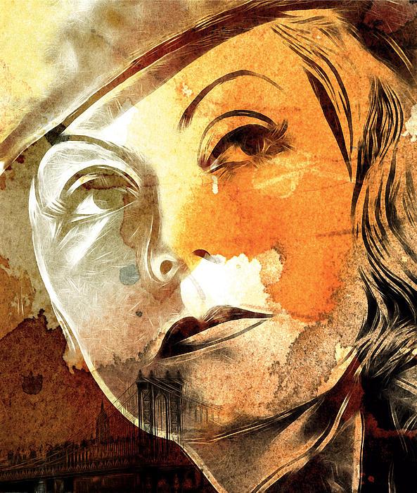 Tears In My Eyes Print by Stefan Kuhn