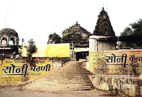 Temple In India Print by Sumit Mehndiratta