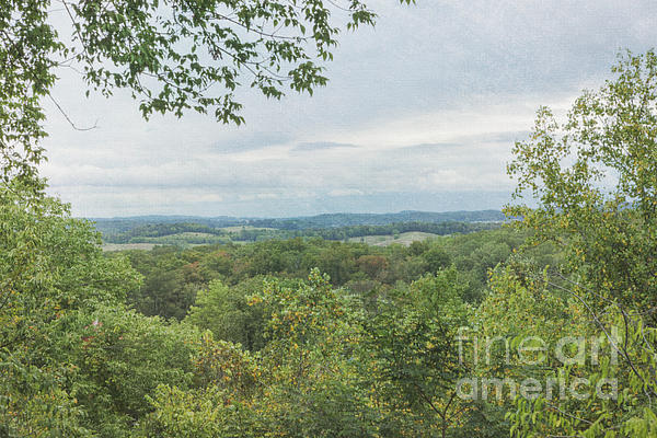 Tennessee Mountains Print by Kay Pickens