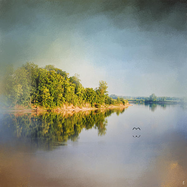 Jai Johnson - Tennessee River Reflections - Water Landscape