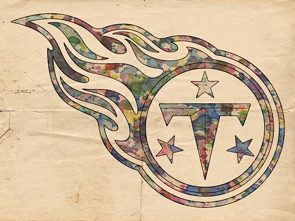 Tennessee Titans Poster Art Print by Florian Rodarte