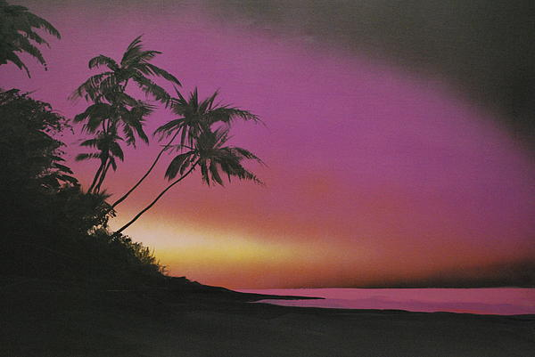 Tequilasunrise Print by DC Decker