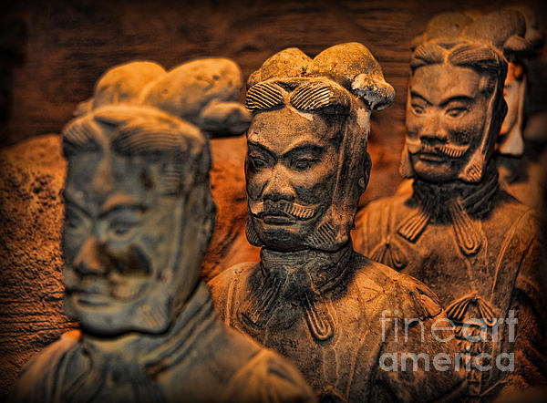 Terracotta Warriors - The Emperor's Army Print by Lee Dos Santos