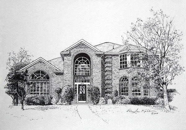 Texas Home 2 Print by Hanne Lore Koehler