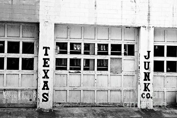 Texas Junk Co. Print by Scott Pellegrin